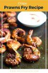 crispy prawns fry recipe