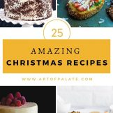 25 Easy Christmas Recipes | Christmas Recipe collection