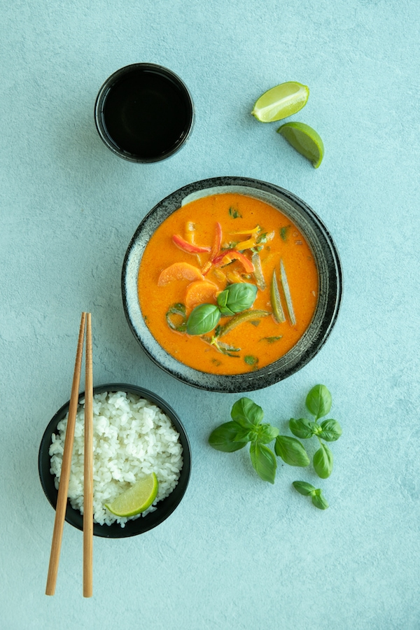 Vegetarian thai curry recipe