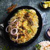 Mutton Biryani Recipe | Hyderabadi dum biryani