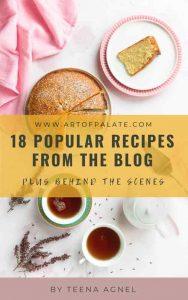 free food photography recipe ebook