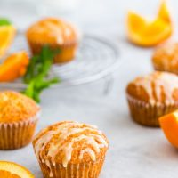 Fresh orange muffins recipe - These fresh orange muffins are made from orange juice, pulp and a good amount of orange zest which makes it absolutely scrumptious. It's an easy recipe to put together. | ArtofPalate.com